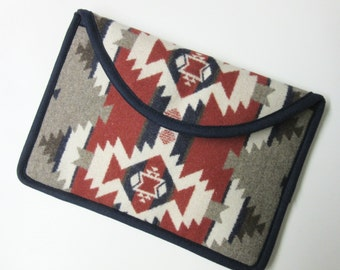 "11"" MacBook Air Cover Sleeve Case Padded Mountain Majesty Blanket Wool from Pendleton Oregon"