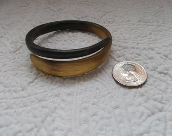 Vintage Organic Horn Snake Bracelet