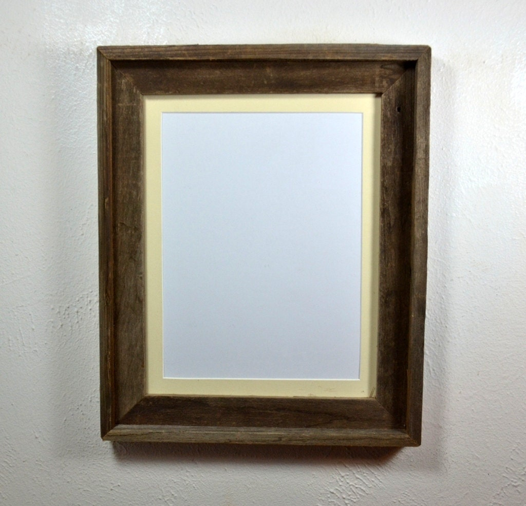 Picture Frame 11x14 With Off White Mat For 8x108