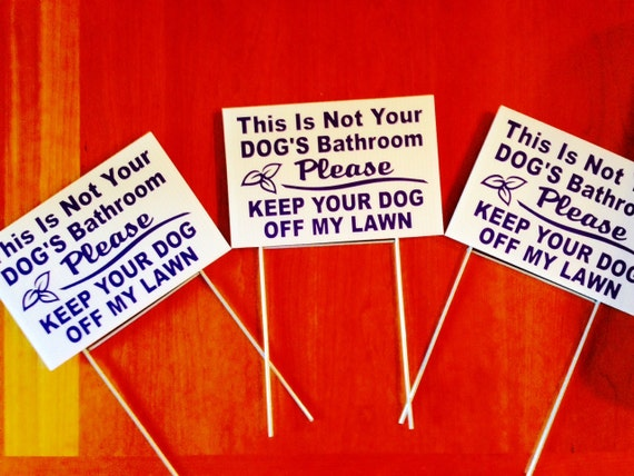 how to keep dogs off my lawn