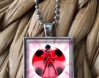 Miraculous Ladybug Marinette Pendant Necklace