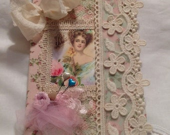 Cottage Chic Altered Journal
