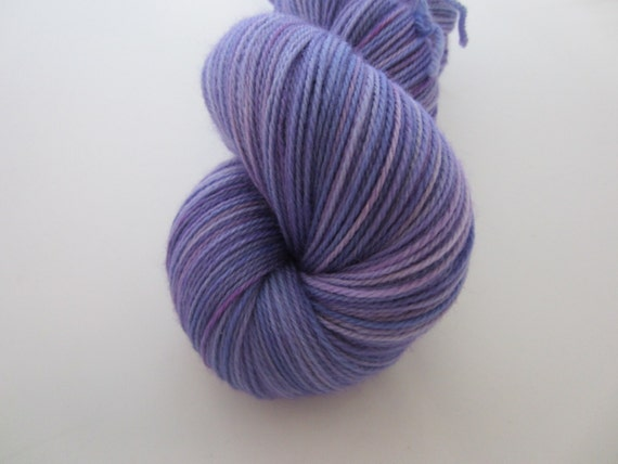 Wisteria - Dyed to Order - Hand Dyed - Merino Wool Yarn - Fingering Weight
