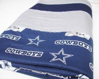 Cowboys Football Fleece Blanket 55 x 65 READY TO SHIP