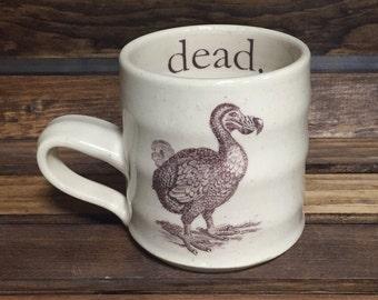 Dead Dodo Stoneware Ceramic Mug