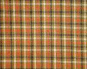 Homespun Fabric   Small Check Fabric   Primitive Cotton Fabric   Quilt Fabric   Home Decor Fabric   Apparel Fabric   Craft Fabric   1 Yard