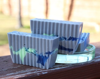 Blackberry Sage Soap - Handmade Shea Butter and Glycerin Soap // Gifts for Her // Gifts for Him