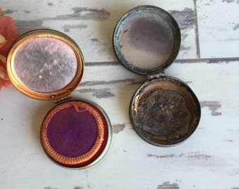 Vintage Compacts - Dorothy Perkins and Avon - Rouge Pot