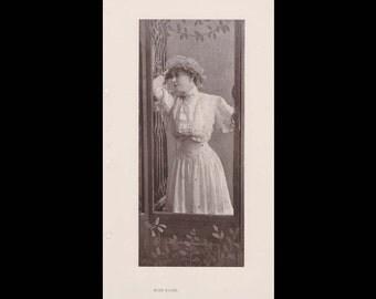 Burr McIntosh Monthly Magazine Print - Rose Stahl, Theatre Actress