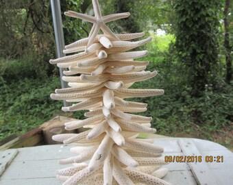 Beach Wedding, Beach Christmas, White Finger Starfish, Custom Made