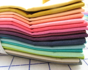 Ombre fat quarter bundle  by V and Co for Moda