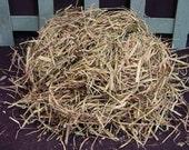Primitive Dried Easter Grass Spring Bowl Basket Filler Tuck Free Shipping  ET
