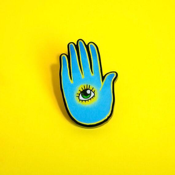 pin the blue eye - photo #23