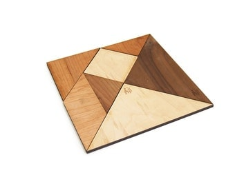 Tangram Puzzle Wooden Toy