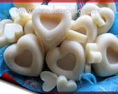 Six Solid Lotion Bars Luxurious Botanical Ingredients Monoi de Tahiti or Cocoa Butter