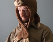 Fleece Sloth Animal Hat