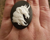 Unicorn, Unicorn ring, Last Unicorn, Ring, Adjustable ring, MsFormaldehyde, Ready to ship
