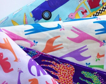 Sale-Fabric by the yard- Childrens Print