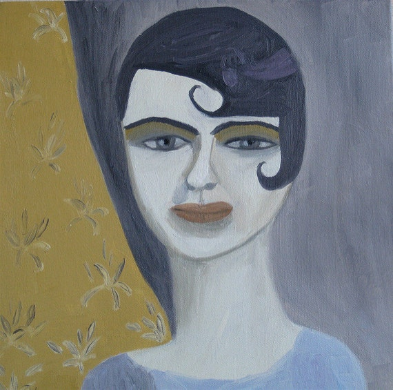 Isabella. Original oil portrait by Vivienne Strauss.