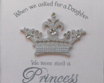 Princess Daughter Canvas