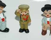 Vintage 1960's- Miniature Hand-Painted People from Spain Collectables