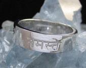 Namaste Ring - Sanskrit