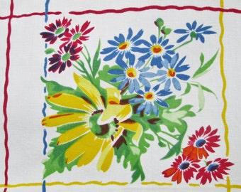 Vintage Tablecloth Wilendur Rosemead Vintage Linens