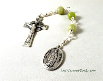 Three Hail Mary Devotion Chaplet Immaculate By Therosaryworks