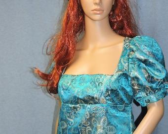 CLEARANCE pictured item only Regency Edwardian Victorian Jane Austen Emma empire waist day dress ball gown