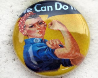 Rosie the Riveter We Can Do It 1 inch Button