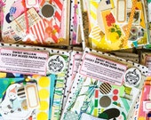 Mixed Paper Pack - surprise lucky dip for collage, scrapbooking, card making, journals, craft