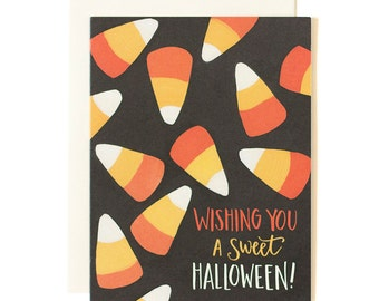 Halloween Candy Corn Boxed Set of 8
