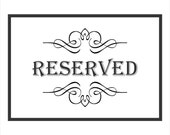 Reserved hang tag order for Kara