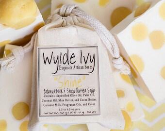 Shine Handmade Soap | Sparkling Sweet Citrus Shea Butter Soap