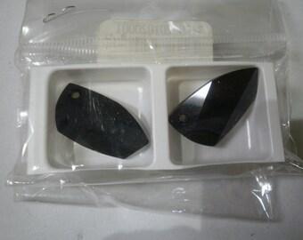 Swarovski Crystal Avant Garde Pendants in Jet