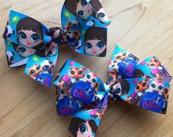 Littlest Pet Shop Hair Bow - Littlest Pet Shop bow,  Littlest Pet Shop, Party Favor, Littlest Pet Shop Party, Favors, Loot bags