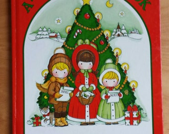 Joan Walsh Anglund Vintage A Christmas Book  1983