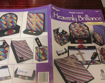 Plastic Canvas Patterns Heavenly Brilliance Needlecraft Shop 993097 Plastic Canvas Pattern Leaflet