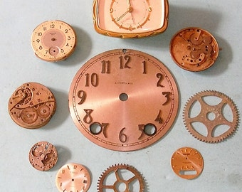 Antique Vintage Watch Parts Pocket Watch Parts Clock Parts Watch Faces