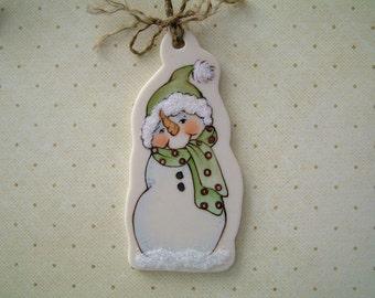 Jr. Snow Ornament