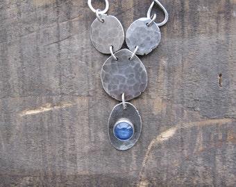 Kyanite necklace, Blue Necklace by teresamatheson
