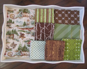 Boy's Camping Quilt Made to Order