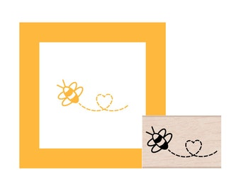 Busy Bee Rubber Stamp