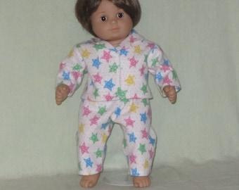 American Girl Bitty Baby size Pajamas Stars