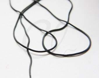 3 Feet Matte Black Plated Brass Base Chains- SQUARE Snake 1.15mm (SN130-4)