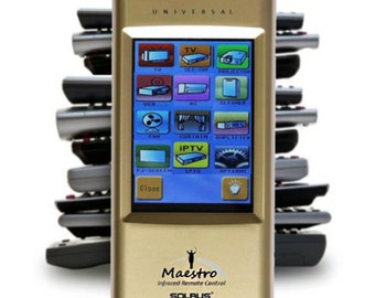ULTIMATE UNIVERSAL IR Remote Control With Full Color Touch Screen