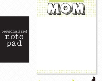 Customizable Mom Notepad