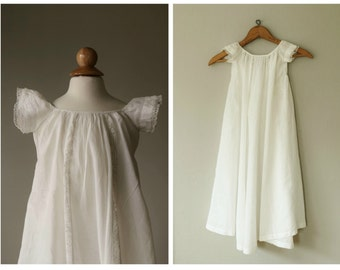 1920s Batiste Baptism Dress~Size 6 months