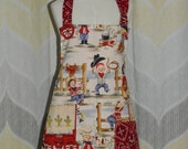 Little Cowboys Kids Size Kitchen Apron - FREE or PRIORITY Shipping