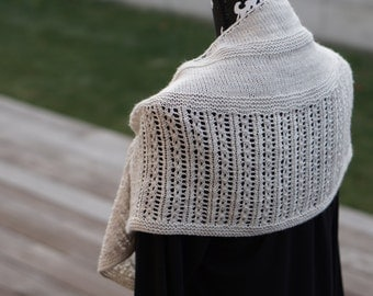 PDF Knitting Pattern - Pebbled Shores